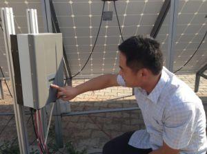 태양 양수 시스템 Ehe-P2k2l-Sj 의 자동 건조한 운영하는 보호