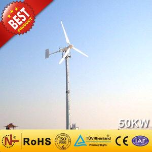 50kw Gerador eólico da China Fabricante (Gerador de turbina eólica 90W-300KW)