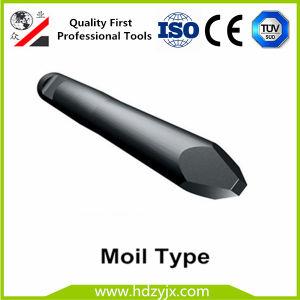 75mm Durchmesser-hydraulischer Unterbrecher mit besten Unterbrecher-Meißeln