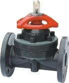 Мембранный клапан, фланец мембранный клапан/PTFE
