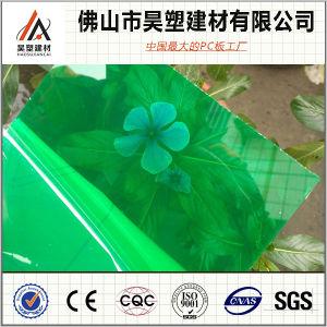 Sólido policarbonato de paneles solares paneles de plástico para PC de efecto invernadero de Techos de hoja de hueco