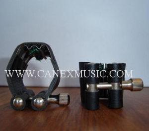 Ligature en cuir et capuchon / embouchure / accessoires musicaux (LL-1)