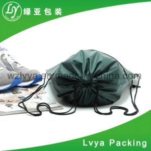 형식 고품질 주문 회색 폴리에스테 펠트 쇼핑 끈달린 가방