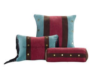 マイクロスエードのパッチワークの7部分の慰める人の寝具のセット、女王、王または西部