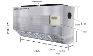 Personalizar el purificador de aire ozono en la pared (SY-G009-I)