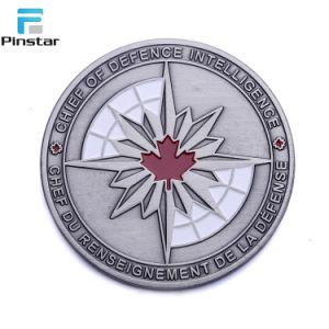 주문 3D 사기질 금속 도전 동전