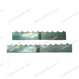 帯鋸の刃のバット溶接装置
