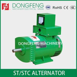 AC van de Enige Fase van de Energie Vrije 7.5kw St van de Prijs van de fabriek Alternator