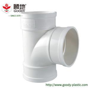 Interior del tubo de UPVC la reducción de ruido de la espiral de montaje del tubo de PVC