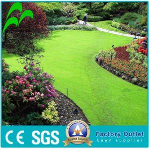 Tappeto erboso sintetico reale di sguardo naturale del giardino di Uv-Resistenza all'ingrosso