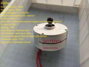 DHLの自由な出荷400W AC希土類永久マグネット交流発電機
