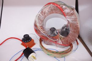 디지털 보온장치를 가진 실리콘 드럼 기름 히이터