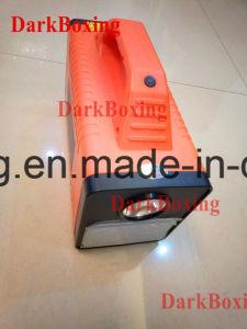 Viajero del ventilador de PC móviles con cámara de iluminación de sonido portátil cargador de coche con cargador Quick3.0