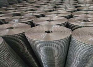 高品質は溶接された金網に低価格の25mm * 25mmのパネル2mm電流を通した