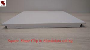 Rouleau de la Chine Fabrication enduire Moistureproof céréales en bois plafond linéaires en aluminium