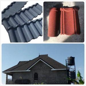 耐火性の石の耐用年数50年のの上塗を施してある金属の屋根瓦