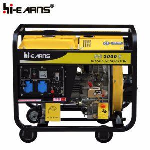 3kw de Diesel Genset/van de generator Reeks van de Generator (DG3000E)