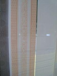 En plastique PVC couleur bois Panneau mural pour la maison avec échantillon gratuit