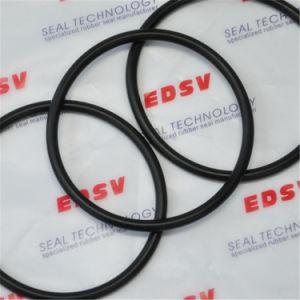 高温シールの工場NBR/Silicone/FKM/EPDM/HNBRゴム製Oリングの黒