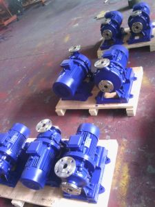 수평한 닫히는 결합된 Monoblock 수도 펌프 (ISW)