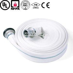 3-дюймовый ПВХ устойчив к высокой температуре экранирующая оплетка пожарные шланги