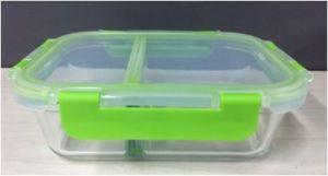1500ml vaso Contenedor de alimentos con dos compartimentos (DIVISOR DE ALTO)
