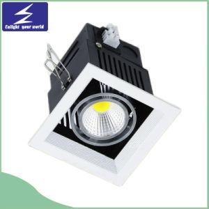 1*10W Venture 85-265 V Rejilla de luz LED