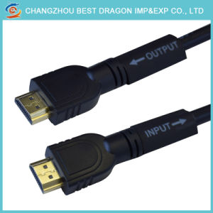 30m HD HDMI 기술설계 케이블 Prolong and Enlarge 케이블 지원 4K 1080P
