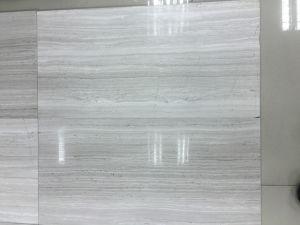 De madera pulida de alta calidad con suelos de mármol de roble y diseños encimeras de mármol blanco de la Frontera