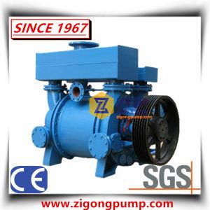 В горизонтальном положении для рекуперации энергии воды в жидкой фазе кольцо вакуумного насоса и компрессора