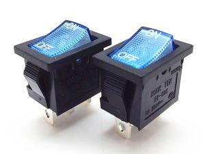 Interruttore di attuatore elettronico on-off colorato di spinta dell'indicatore luminoso al neon per lo zoccolo