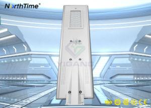 IP65 de alto brillo LED lámpara solar de la calle con cámara CCTV
