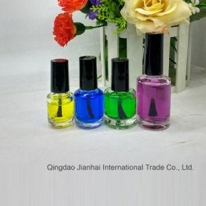 O novo salão de vidro vaso de cosméticos para armazenamento de esmalte