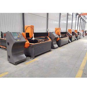 Cnc-metallschneidende Maschinen-Plasma-Ausschnitt-Maschine mit Händlerpreis