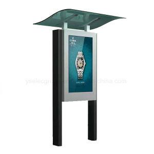 Yashi 옥외 광고 선수 이중 면 접촉 스크린 LCD 디지털 Signage