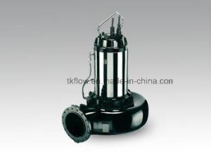 No-Clog eléctrico sumergible de aguas residuales bomba de agua para las aguas residuales