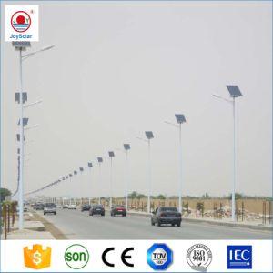 África Soncap ISO Certfication Ce calle la luz solar con la pole