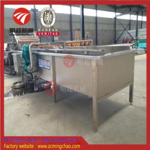 La Raíz automática de lavado de fruta/Vegetal de la línea de tratamiento de peeling