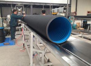 Tubo ondulato del PE dello scolo dell'acqua Dn600 di prezzi bassi