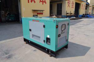 Dieselgenerator des einphasig-20kw mit Gehäuse-Set