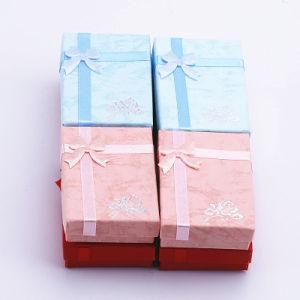 Livraison gratuite couleurs mélangées 70*50*20 mm Necklace Earrings Bracelet Bague Fashion boîte à bijoux boîte Boîte cadeau de Noël d'emballage