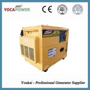 5,5 kw triphasé Puissance du moteur diesel silencieux générateur diesel portable