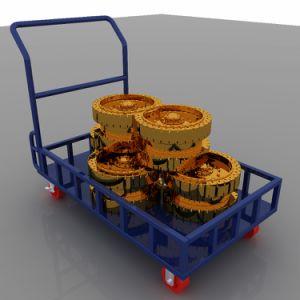[إيوروبن] أسلوب فولاذ يطوي [500كغ] من حامل متحرّك عربة