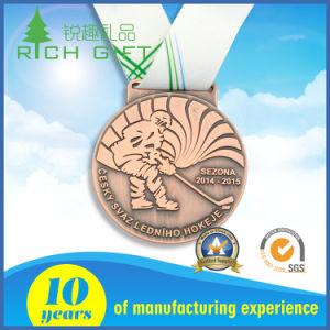 製造業者卸売のためのカスタム亜鉛合金の記念品のスポーツの金属メダル