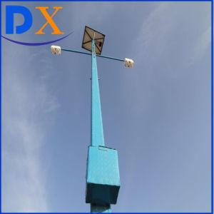 4m、6m、7m、8mポーランド人の江蘇屋外のHightの明るさ太陽LEDのライト