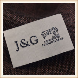 Proporcionar marca personalizada suave y lavable Etiquetas de prendas de vestir