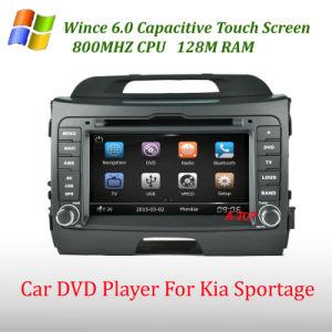 KIA Sportage를 위한 GPS Navigation System를 가진 차 DVD Player