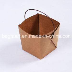環境に優しいパスタのペーパー包装ボックス、ハンドルが付いているキャンデーボックス軽食ボックス