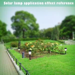 China Jardín Solar lámpara de iluminación de exterior con 7 colores
