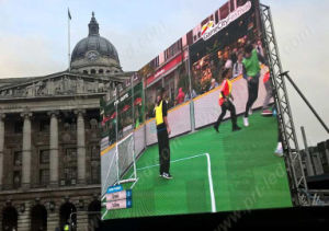 P6.25 LED de Color Digital Signage para partidos de deportes al aire libre